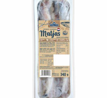 Matjas filety - oryginalne holenderskie 340g