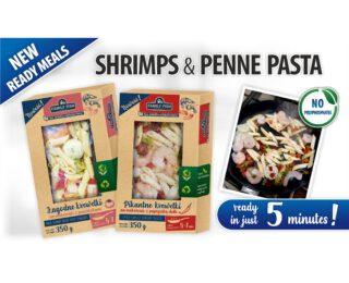 Shrimps Penne Pasta 350g