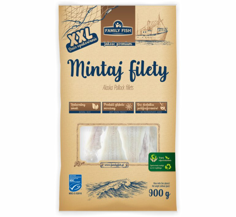 Mintaj Filety 900g
